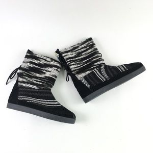 Toms Black Suede Nepal Boot H6614874